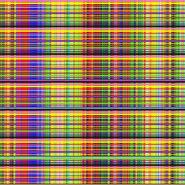 Ron Agam - Labyrinth of Colors